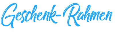 Geschenk Rahmen - Bestickte Baby Windeln mit Namen-Logo
